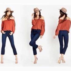 NWOT! Sanctuary Denim Hi-Rise Jolie Crop Jeans 28